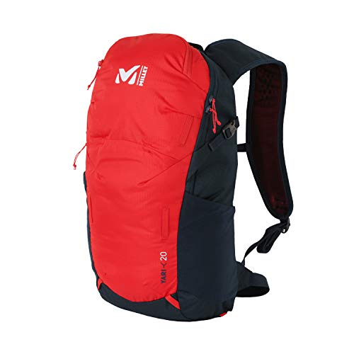 MILLET Unisex-Adult Yari 20 Rucksack, Fire/Orion Blue