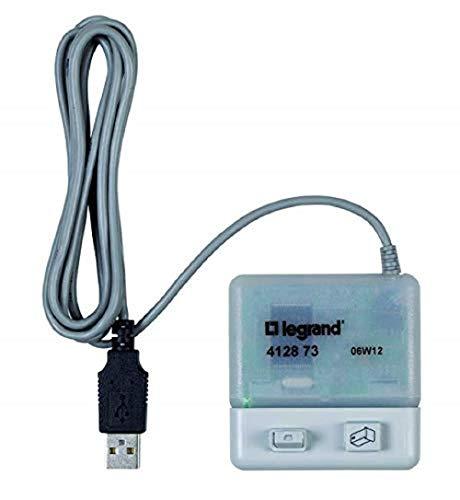 Legrand, AlphaRex Zeitschaltuhr Zubehör, PC-Adapter REX zur Programmierung eines AlphaRex Datenschlüssels am PC, 412873