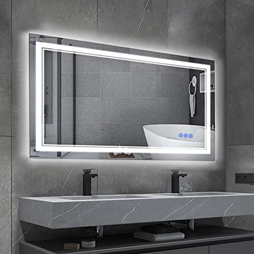 Espejos De Baño Con Luz Led Y Bluetooth espejos de baño  Marca BBE