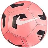 NIKE NK PTCH TRAIN-SP21 Recreational Soccer Ball, Unisex-Adult, Sunset Pulse/Black/(White), 5
