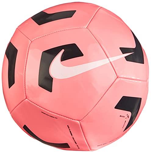 Nike Unisex-Adult NK PTCH TRAIN-SP21 Recreational Soccer Ball, Sunset Pulse/Black/(White), 5