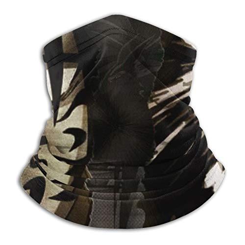 haoking Naruto - Funda para cuello con funda para la cara, bufanda resistente al viento y al polvo, bufanda reutilizable para hombres y mujeres, múltiples formas de vestir