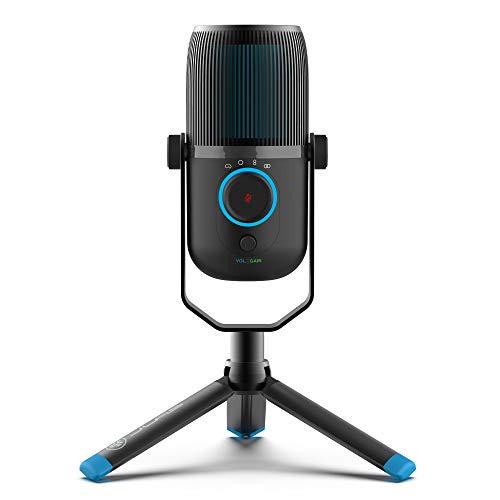 JLab Talk USB Microphone   USB-C Output   Cardioid, Omnidirectional, Stereo or Bidirectional   96k...