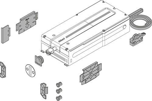 BLUM 4784397 SERVO-Drive Flex Kühl, Gefrier-und Geschirrspülgeräte, Set mit Antriebseinheit und Montagezubehör
