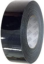 VViViD 3M 1080 Metallic Black Gloss Vinyl Detailing Wrap Pinstriping Tape 20ft Roll (4 Inch x 20ft)