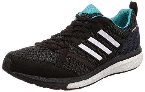 adidas Adizero Tempo 9 M, Zapatillas de Running Hombre, Negro (Core Black/Hi-Res Aqua F18/Mystery Ink F17), 39 1/3 EU