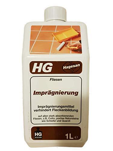 2 x 1 liter HG tegels impregnatie binnen/buiten 2 l.