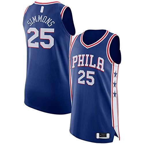 SDAFSA Jersey de baloncesto bordado al aire libre personalizado #25 Jersey Royal - Edición icono