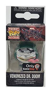 Funko Pocket Pop! Venomized Dr Doom Exclusive Keychain Keyring