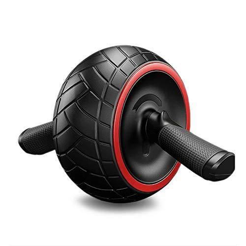 Rueda de reseña simple de fitness, movimiento suave, fácil de instalar, trabajo en la parte superior del cuerpo (ABS/pecho, devolución, hombros, brazos).