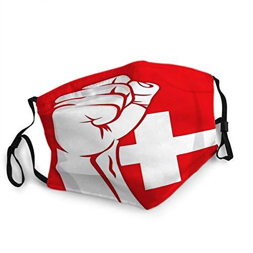 Wiederverwendbarer Gesichtsschutz Mundschutz Schweiz Faust