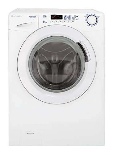 Candy GSV 138D3-S lavatrice Libera installazione Caricamento frontale Bianco 8 kg 1300 Giri/min A+++