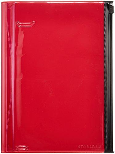 Storage.it Notizbuch L - rot: Format: 21,6 x 16,4
