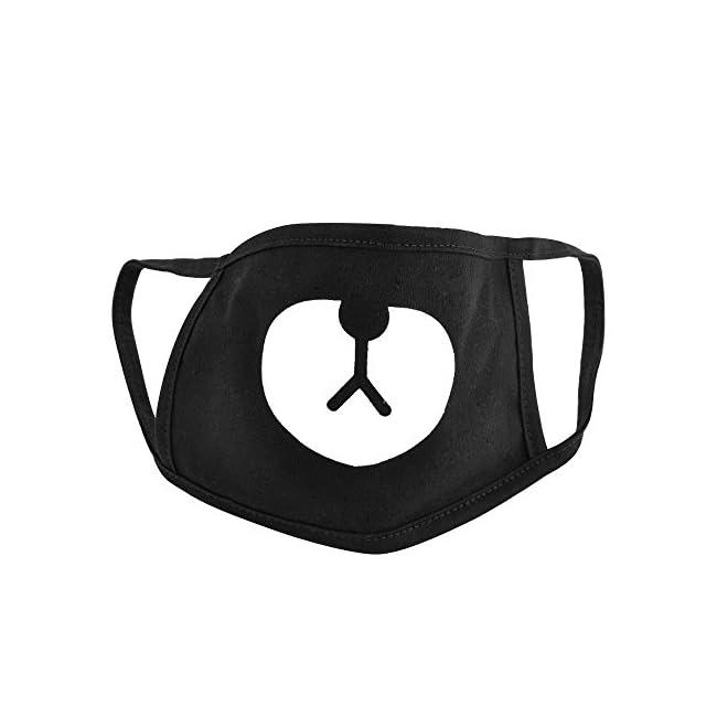 Anime Mundschutz Maske für Radfahren Anti-Staub Gesichtsmaske (Bär) Mundschutzmaske