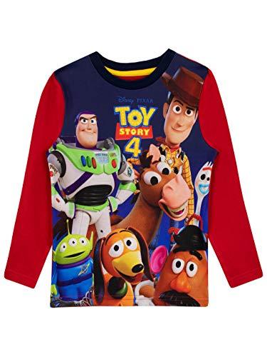Disney Camiseta de Manga Larga para niños Toy Story Multicolor 2-3 Años