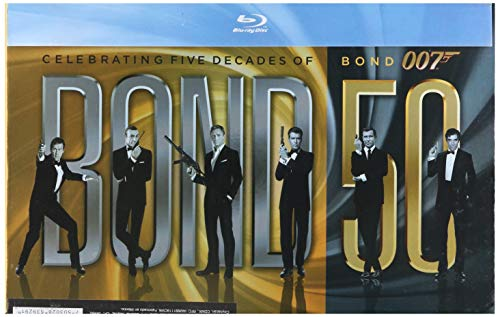 22 Titulos, 50 Aniversario Bond Boxset (blu_ray) [Blu-ray]