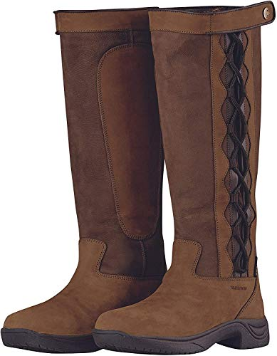 Dublin Pinnacle II Womens Country Boots 38 EU Dark Brown