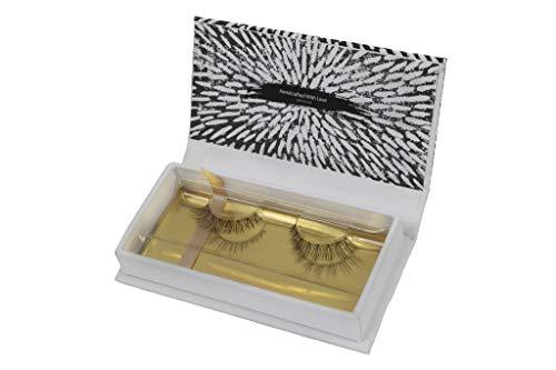 Eylove   Natürliche falsche Wimpern für den Alltag   Vegan & ohne Tierversuche   Luxus Face Lashes als künstliche Wimpern, Fake Lashes, 3D Fakewimpern, Eyelashes   hochwertig & natural (Dove)