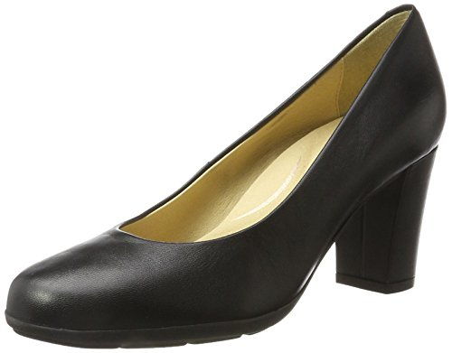 Geox Damen D Annya C Pumps, Schwarz (Black), 39 EU (6 UK)
