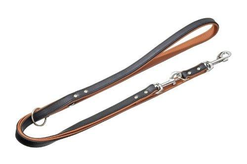 Karlie 09315 Führleine Rodeo L: 200 cm B: 16 mm schwarz-cognac