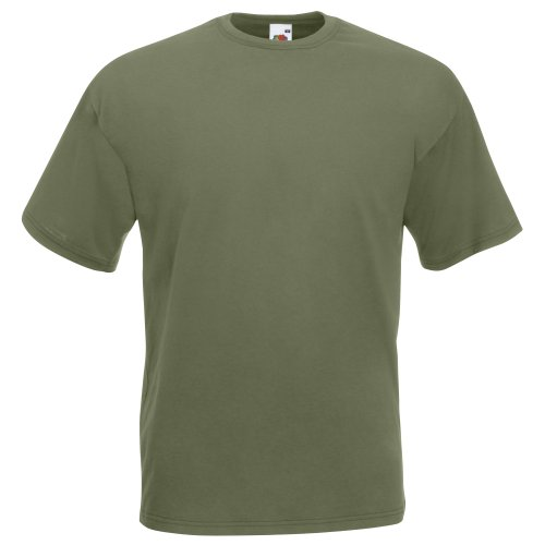 Valueweight T - Farbe: Classic Olive - Größe: XL