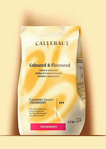 Callebaut gocce di Cioccolato alla Fragola (callets) 2.5kg