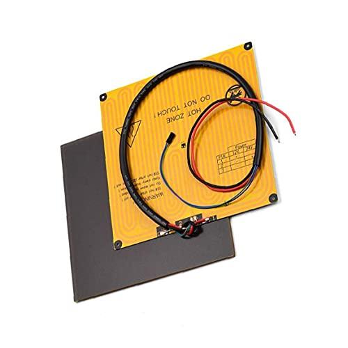 NiceCore Placa Plataforma de Cristal Ultrabase Heatbed Plataforma de Aluminio calentado semillero...