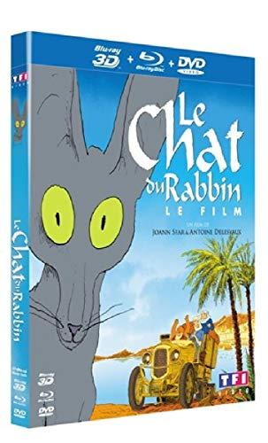 Le Chat du Rabbin [Combo Blu-Ray 3D + DVD]