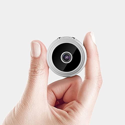 Cámara de seguridad 1080P viene con cámara inalámbrica WiFi para deportes al aire libre Cámara de visión nocturna 150° Gran angular de alta definición CXSD (color: blanco, tamaño: 16 g)