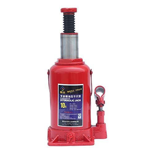 AXWT Hydraulic Jack, Hebe 2-50T Flasche Jack Heavy Duty Hydraulik-Wagenheber Auto Van Wagen Fahrzeug Automobil Aufzug (Größe : 10T)