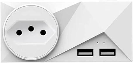 Smart Plug Tomada Inteligente WIFI Com Duas USB JWCOM Alexa e Google Home