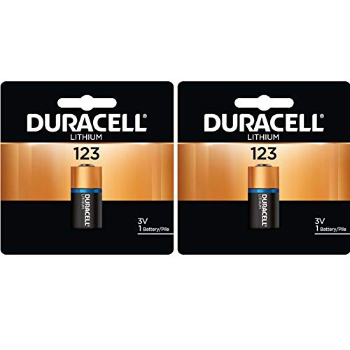 Duracell DL123ABU 3V Ultra Lithium Battery, Value Pack of 2