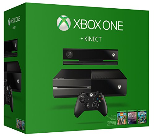 Xbox One 500GB Console with Kinect Bundle (Includes Chat Headset)