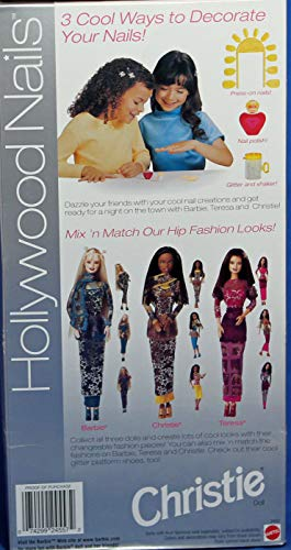 Hollywood Nails African American Christie Barbie Doll