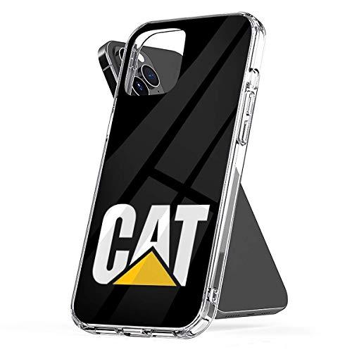 Fundas para teléfono Pure Clear, Antideslizantes y Protectoras para Caterpillar Compatible con iPhone 12/12 Pro MAX 12 Mini 11 Pro MAX SE X XS MAX XR 8 7 6 6s Plus Funda