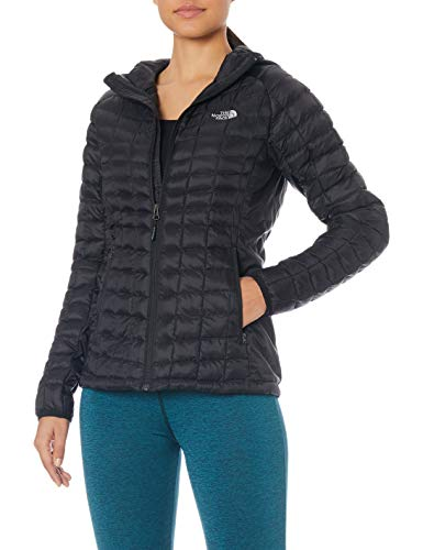 THE NORTH FACE Damen Hoodie Damen Thermoball Sport Hoodie, Tnf Black/Tnf Black,  M,  T93RXHKX7