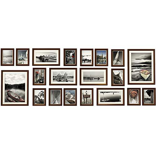 Xiao Jian- foto muur Parket fotolijst familie fotolijst fotolijst fotolijst muur opknoping galerij Set grote combinatie multi-frame fotomuur