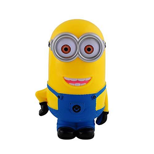 MHBY Hucha, Minion Lovely 3D Minions Figuras de Dibujos Animados Hucha Caja de Dinero Ahorro Centavo de Moneda