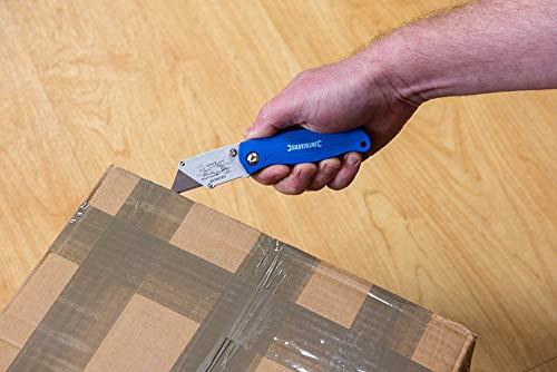 Silverline 699155Taschenmesser faltbar Mehrzweck, mehrfarbig, 100mm