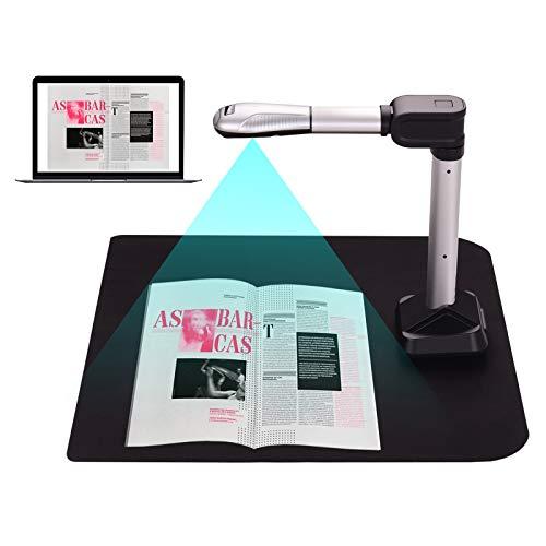 Moniel BK51 Scanner de câmera de documentos USB Tamanho da captura A3 HD 16 Scanner de alta velocidade de 16 mega-pixels com luz LED para cartões de identificação Passaporte Livros Marcas d'água