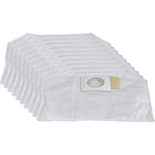 Makita 197903-8 - Juego de bolsas de filtro, paquete de 10, 2.0L, blanco