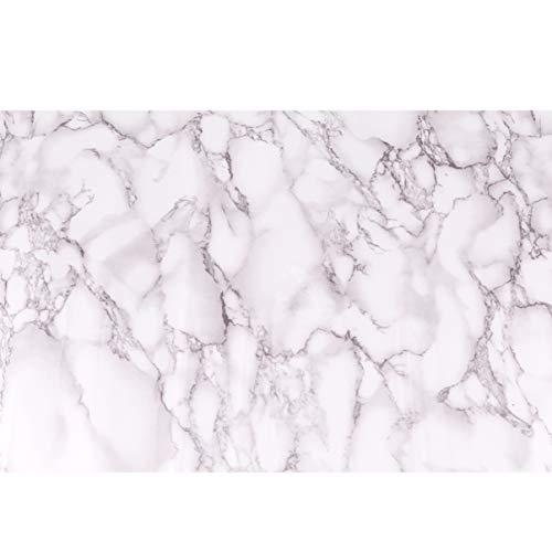 Wakauto Marmortapete Selbstklebende Marmorplatte Folie Wasserdicht Schälen Und Kleben Marmoroptik Papier für Küchenschrankmöbel 200X40cm