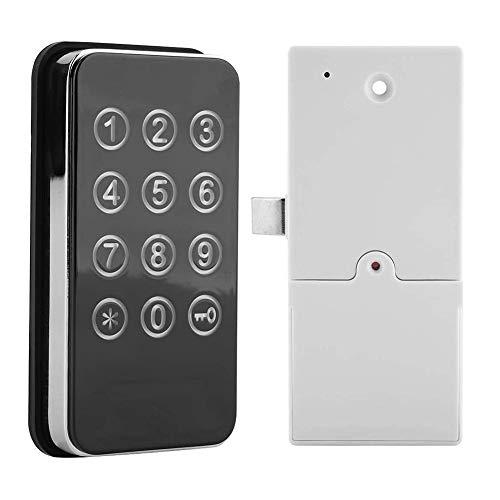 Cerraduras de puerta inteligentes, pantalla táctil digital cerradura de combinación para archivadores, mesillas de noche, cajas de contraseña