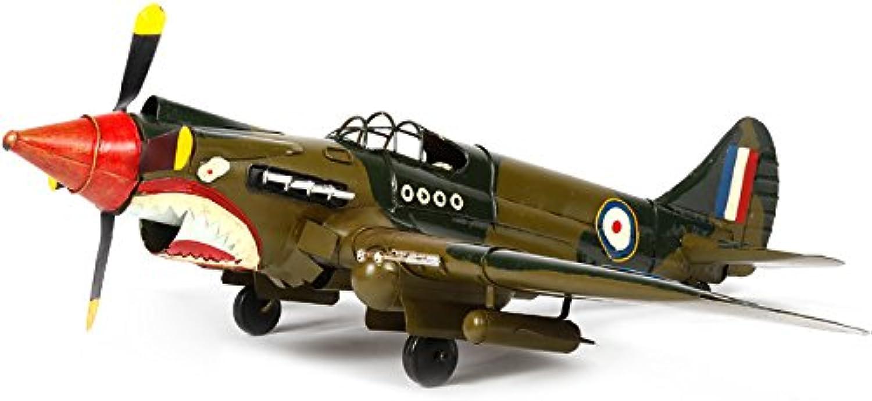 JJLESUN3 53  64  20 cm Eisen Antike Flugzeuge Modell Retro Modell Dekoration Verzierungen B07LGV3QHJ Grüne, neue Technologie    | Guter weltweiter Ruf