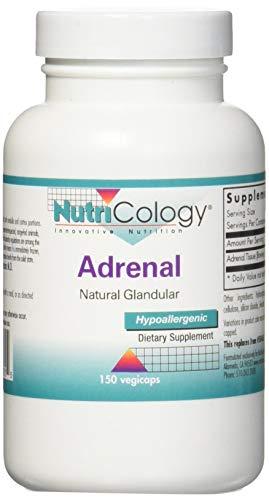 Nutricology: Adrenal Natural Glandular (150 Kapseln)
