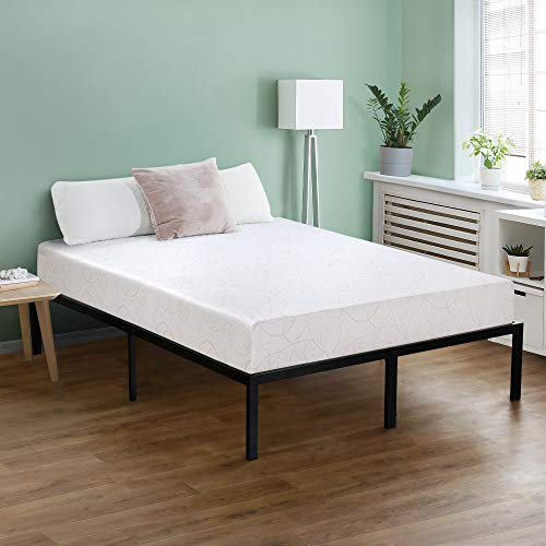 Olee Sleep 7 Inch I-Gel Deluxe Comfort Memory Foam Mattress,Twin,Beige,White, CertiPUR-US, Multi-layered foam, Supporting Body Weight,Comfort and Relieve pressure, Model:07FM01T