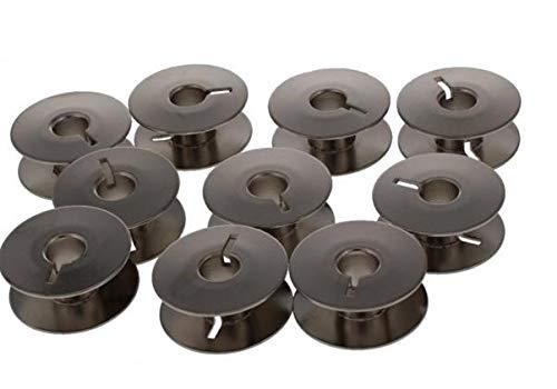 Sew-link - Bobinas de metal para Brother PR620, PR650, PR670E (20 unidades)