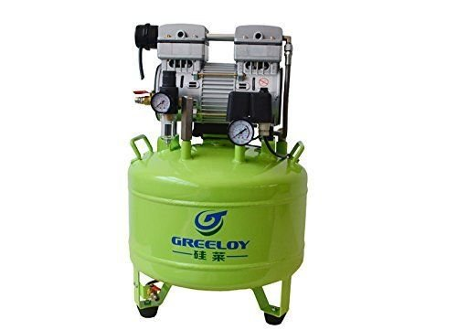 GoDen エアーコンプレッサー オイルレス 容量40L 155L/min GA-81 技工向け 低騒音 省エネー
