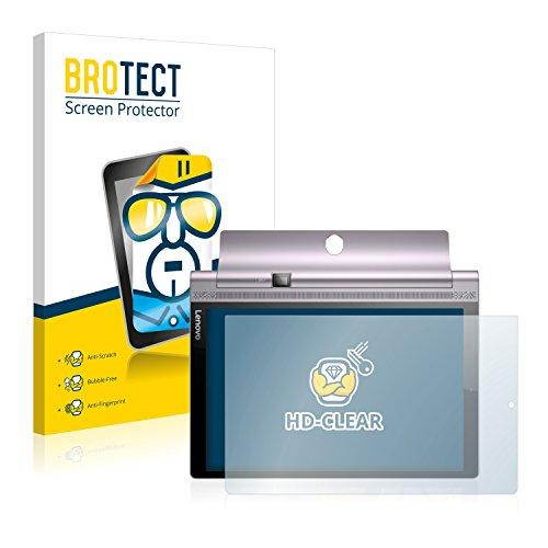 pellicola lenovo yoga tablet 3 10 brotect Pellicola Protettiva Compatibile con Lenovo Yoga Tab 3 PRO 10 Pellicola Trasparente (2 Pezzi) Anti-Impronte