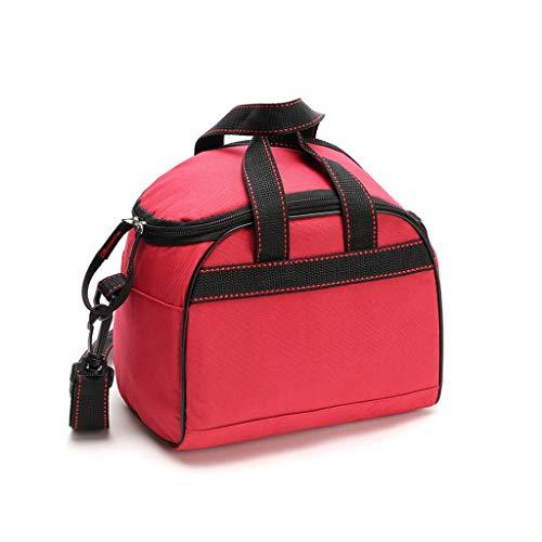 Hogar y cocina Cestas de Picnic Bolsas de picnic para 2 personas Cesto con bolsas más frescas Bolsas de almuerzo de aislamiento térmico 6L Cestas de picnic portátiles Bolsas de regalo de almacenamient
